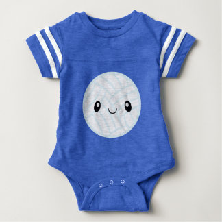 Emoji Volleyabll Baby Bodysuit