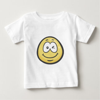 Emoji: Winking Face Baby T-Shirt