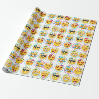emoji wrapping paper