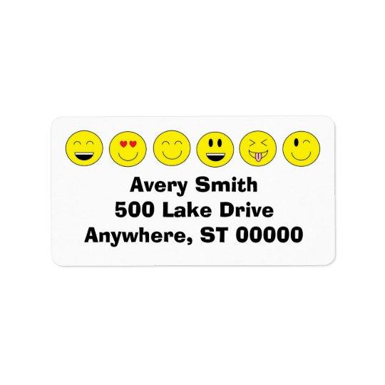 Emojis Address Labels