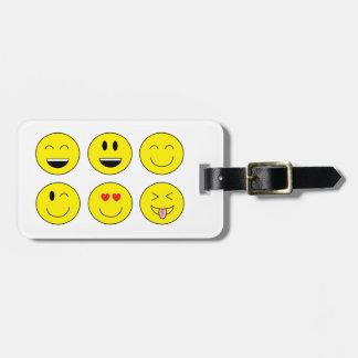 """""""Emojis"""" Luggage Tag"""