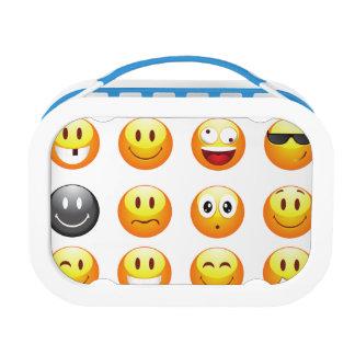 emojis lunch box lunchbox
