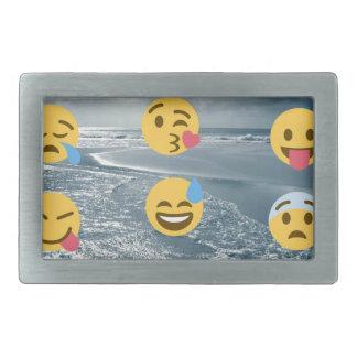 Emojis Rectangular Belt Buckles