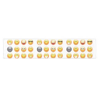 emojis table runner tablerunner cloth