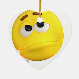 emoticon-1634515 ceramic heart decoration