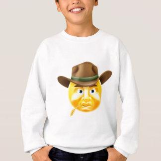 Emoticon Cowboy Sweatshirt