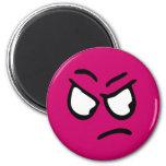 Emoticon Customisable Background Magnet