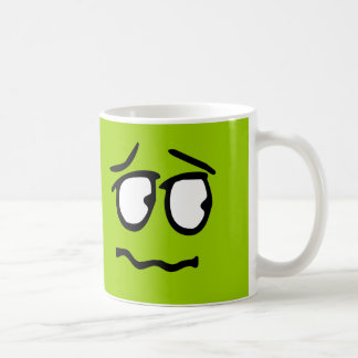 Emoticon Customizable Background Mug