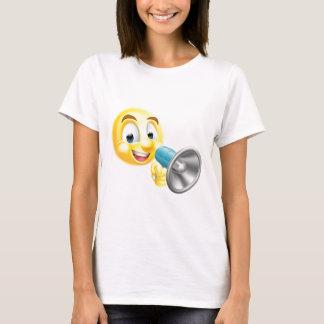 Emoticon Emoji Holding Mega Phone T-Shirt