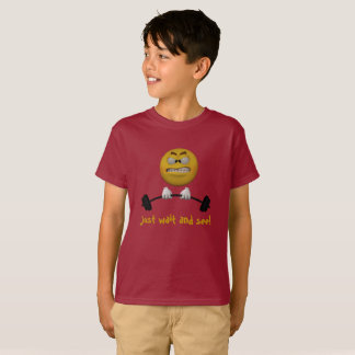 Emoticon getting stronger T-Shirt