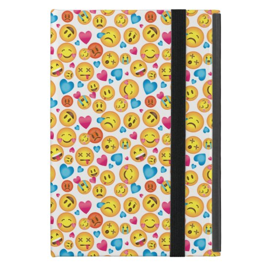 Emoticon print iPad Case