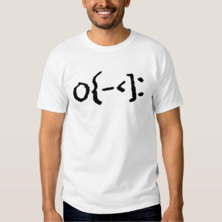 """Emoticon"" SKATEBOARDER!  All Black Design T Shirt"