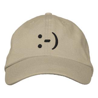 Emoticon Smiley Face Baseball Cap
