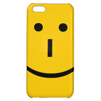 Emoticon, Smiley Face Case For iPhone 5C