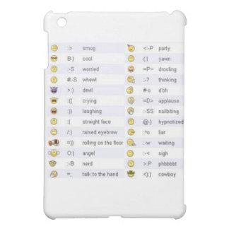 Emoticons iPad Mini Case