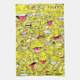 Emoticons Kitchen Towels
