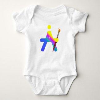 eMotikO baby - eMotikART - ART design Baby Bodysuit