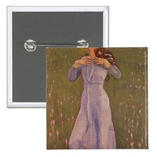 Emotion , 1900 15 cm square badge