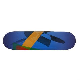 Emotion Abstract Art Skateboard Deck