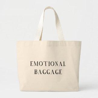 Emotional Baggage Large Tote Bag