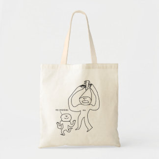 Emotional Feud Tote Bag