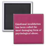 Emotional Invalidation Has Been Called … Square Magnet