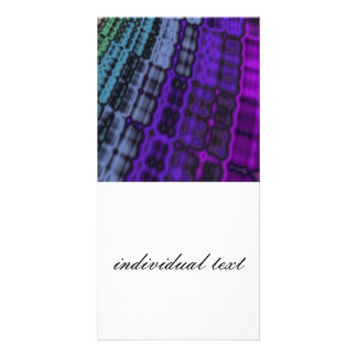 emotional moments colorful photo card template