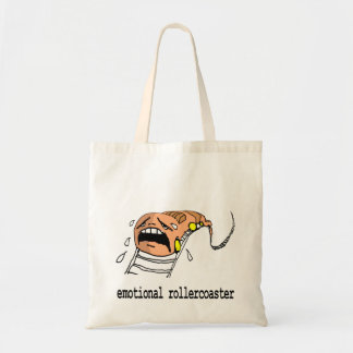 emotional rollercoaster picture bag