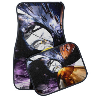 Emotional Scars Abstract Floor Mat