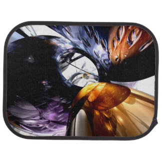 Emotional Scars Abstract Car Mat
