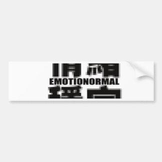 Emotionormal Bumper Sticker