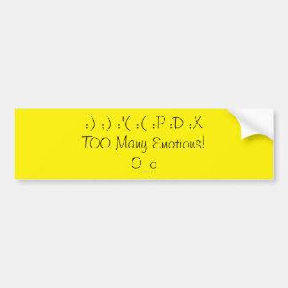 Emotions Bumper Stickers