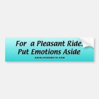 EmotionsAside Bumper Sticker