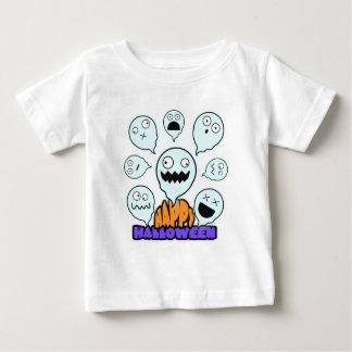 Emotive Ghost  Halloween Baby  T-Shirt