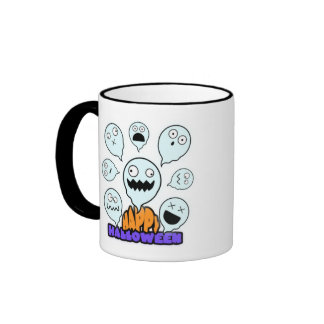Emotive Ghost  Halloween Mug