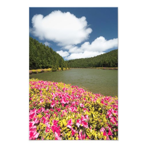 Empadadas Lakes, Azores Photographic Print