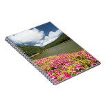 Empadadas Lakes, Azores Spiral Note Book