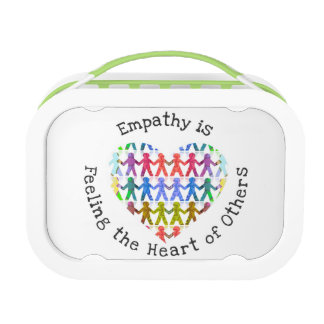 Empathy is feeling the heart of others lunch box