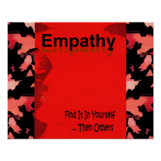 EMPATHY Poster for Men and Women, Young and Old