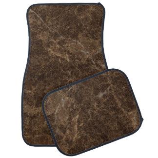 Emperador Claro Stone Pattern Background Floor Mat