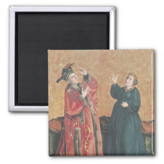 Emperor Augustus  and the Tiburtine Sibyl Square Magnet