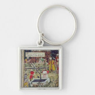 Emperor Babur Key Ring