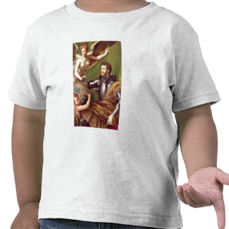 Emperor Charles V (1500-58) Receiving the World, c Tee Shirts