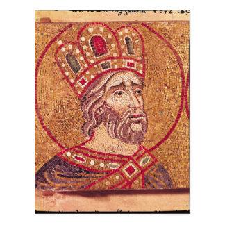 Emperor Constantine I  the Great Postcard