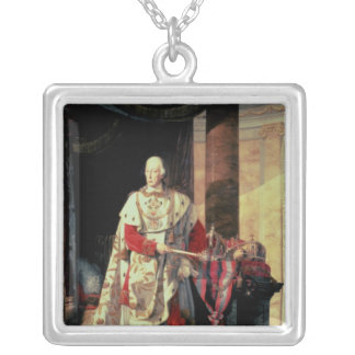 Emperor Francis I of Austria, 19th century Silver Plated Necklace