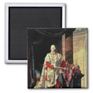 Emperor Francis I of Austria, 19th century Square Magnet