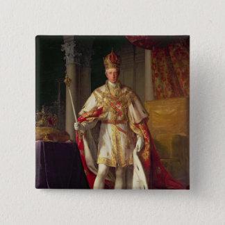 Emperor Franz II of Austria 15 Cm Square Badge