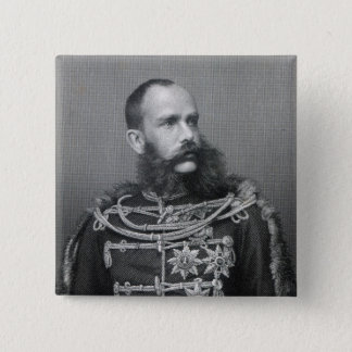 Emperor Franz Joseph I of Austria 15 Cm Square Badge