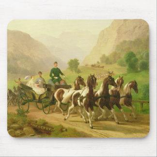 Emperor Franz Joseph I of Austria Mouse Pads