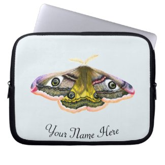 Emperor Hawk Moth Laptop Sleeve